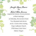 Affordable Wedding Invitation Template Online