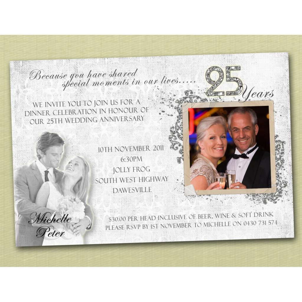 Anniversary Invitation Quotes