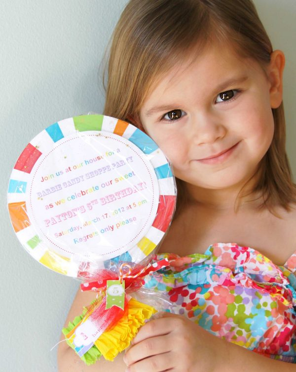 Birthday Party Invitation Template Etiquette