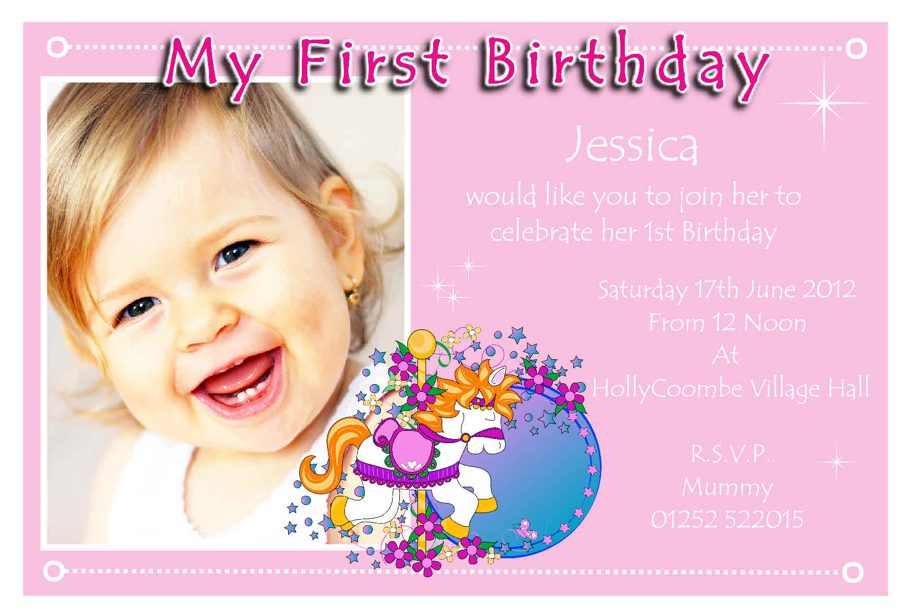 Birthday Party Invitation Template Online
