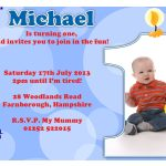 Birthday Party Invitation Template Sample