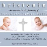 Christening Baptism Invitation