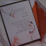 Fall Wedding Invitation Sample