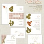 Fall Wedding Invitation Template Example