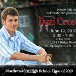 Graduation Invitation Templates Wording