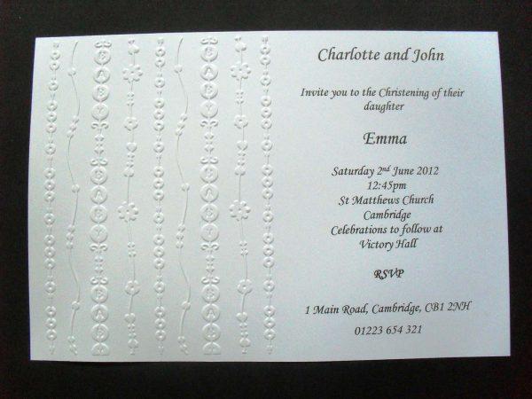 Handmade Invitation Template Sample