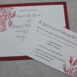 Handmade Wedding Invitation Template Card