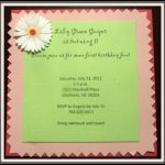 Invitation Ideas Card