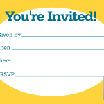 Invitation Online Idea