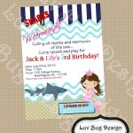 Kids Party Invitation Sample