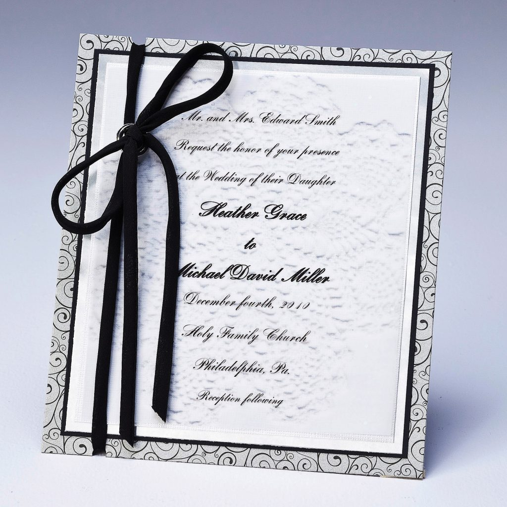 Lace Wedding Invitation Online