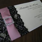 Lace Wedding Invitation Wording