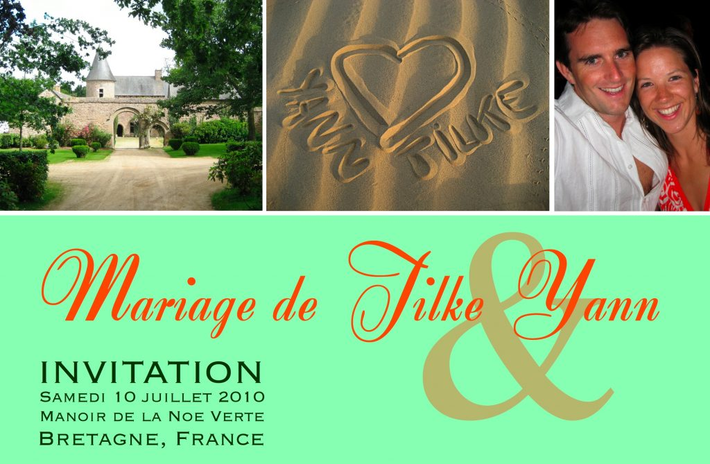 Photo Invitation Card