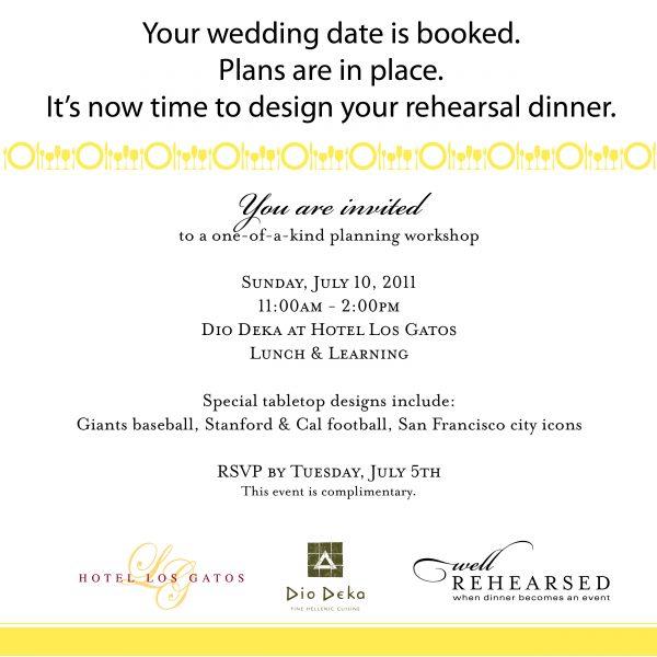 Rehearsal Dinner Invitation Online