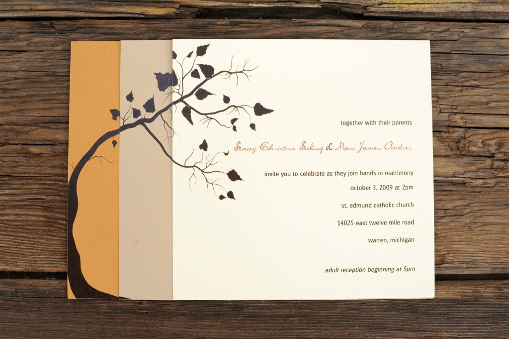 Sample Wedding Invitation Template Idea