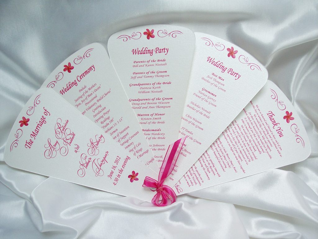 Unique Wedding Invitation Sample