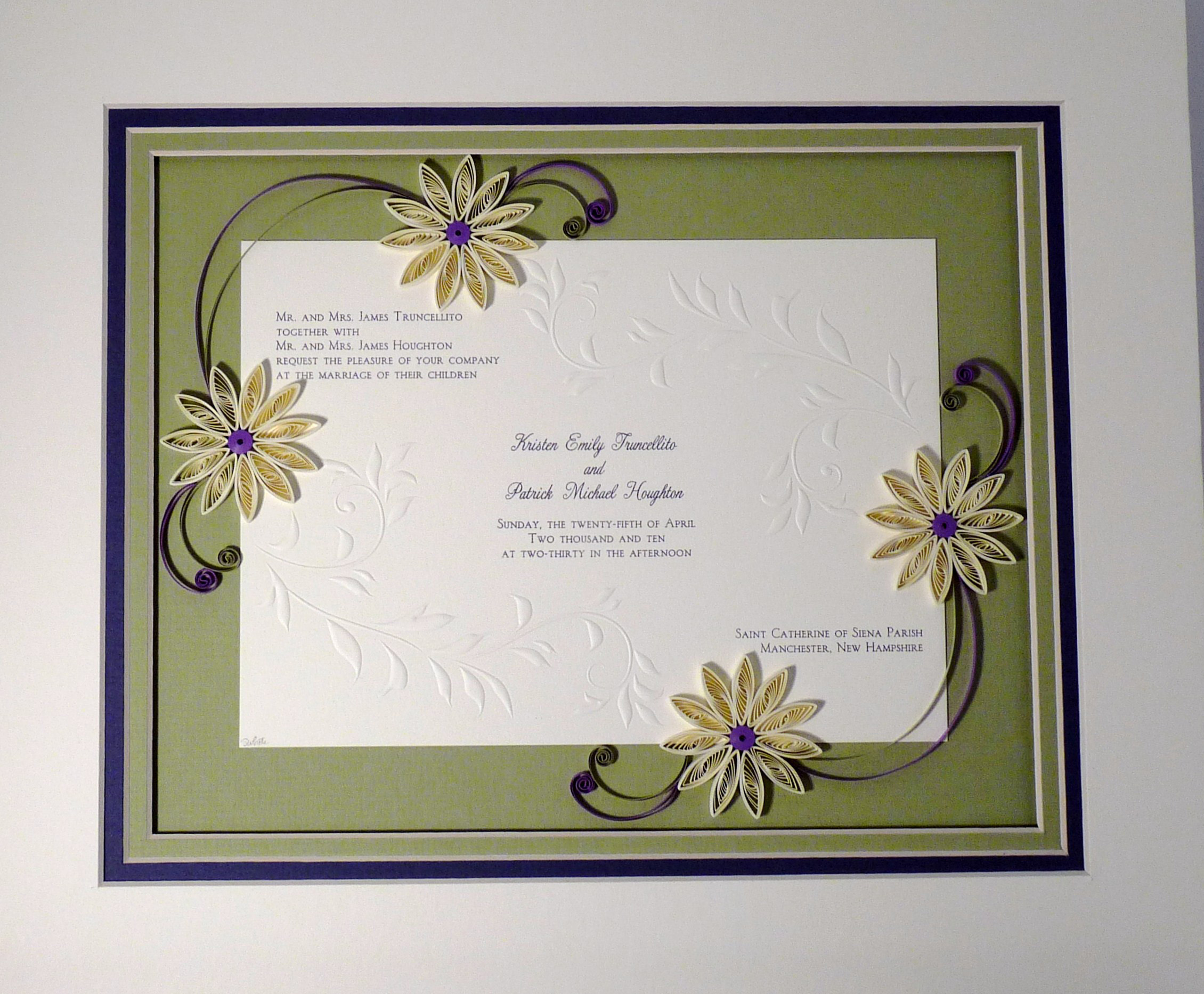 Wedding Invitation Examples Template.