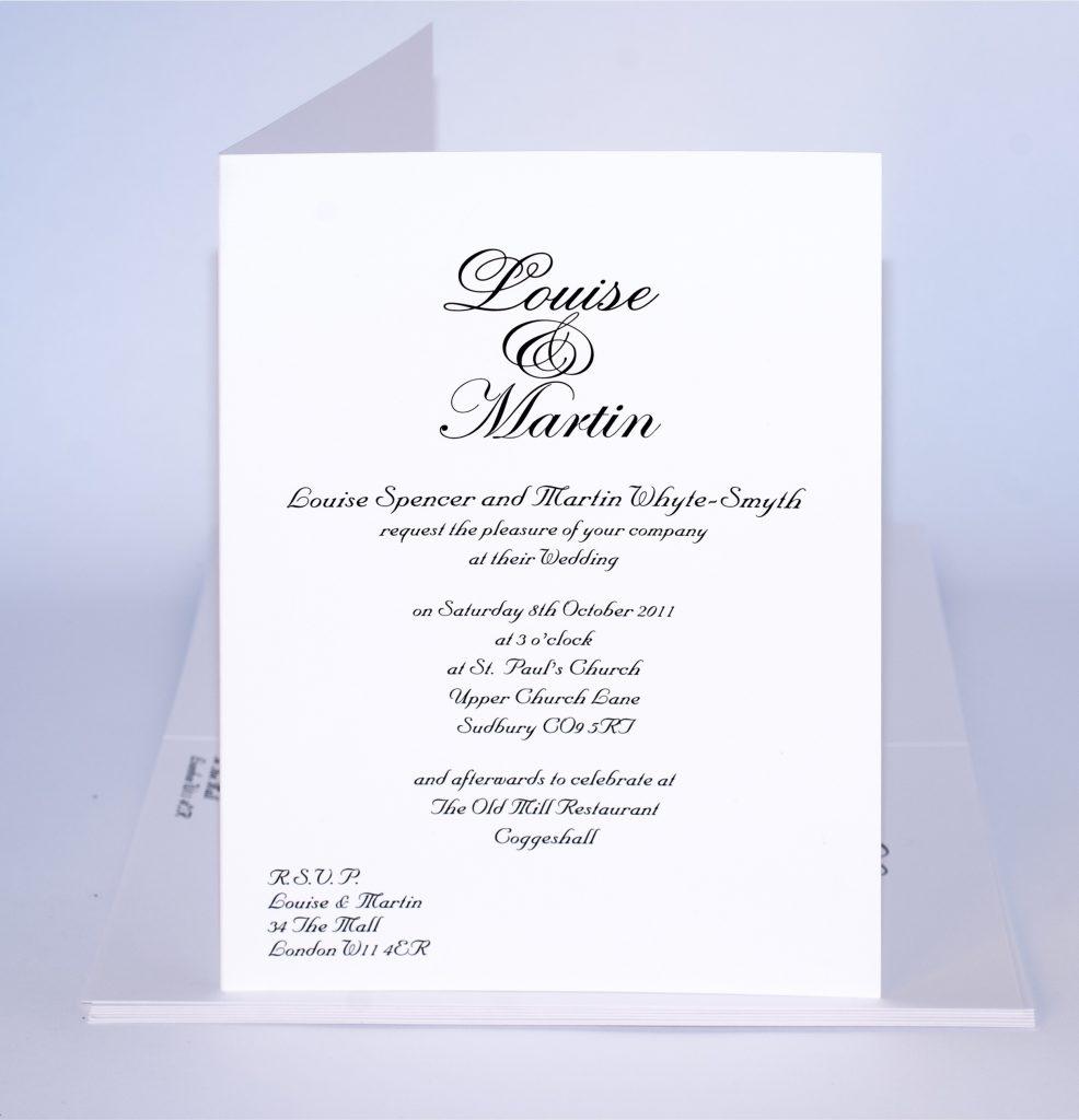 Wedding Invitation Samples Idea