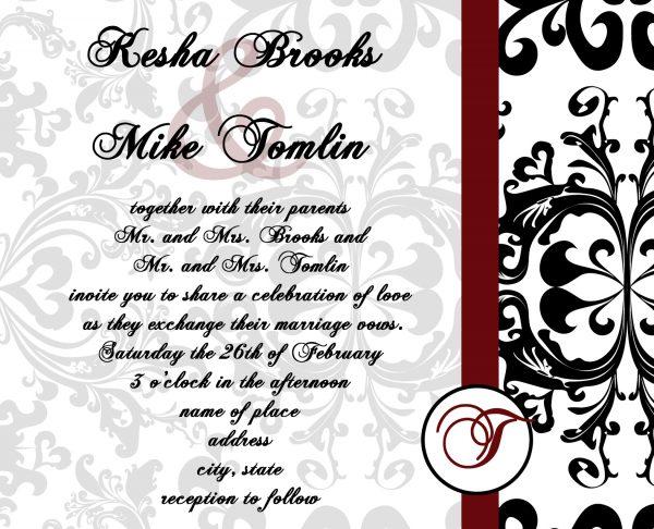 Wedding Invitation Templates Quotes