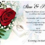 Affordable Wedding Invitation Sample