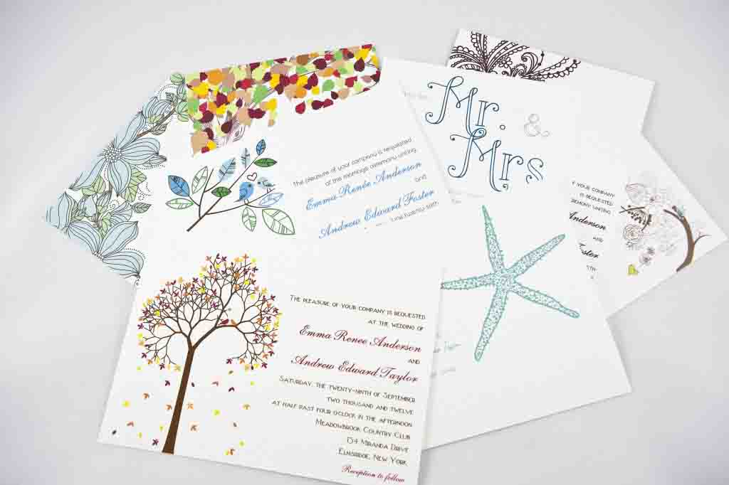 Affordable Wedding Invitation Template