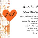 Affordable Wedding Invitation Template Sample