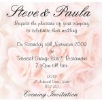Affordable Wedding Invitation Wording