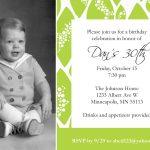 Baby Invitation Template