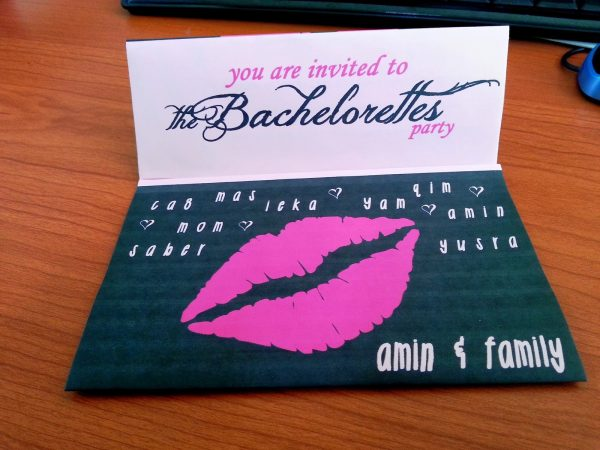 Bachelorette Party Invitation Template