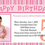 Birthday Party Invitations