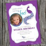 Birthday Party Invitation Template Card
