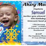 Birthday Party Invitation Template Wording