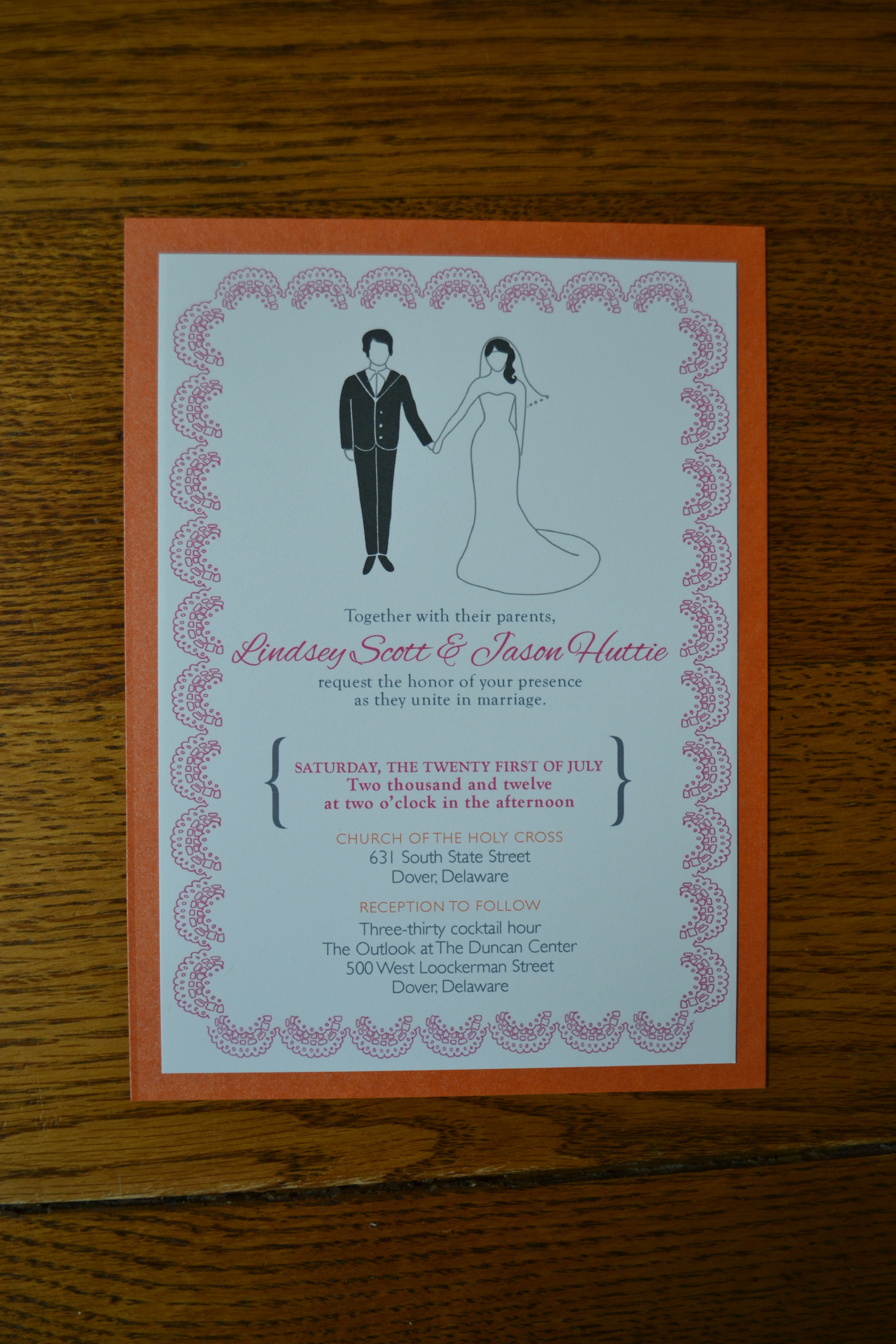 Card Invitation Template Etiquette