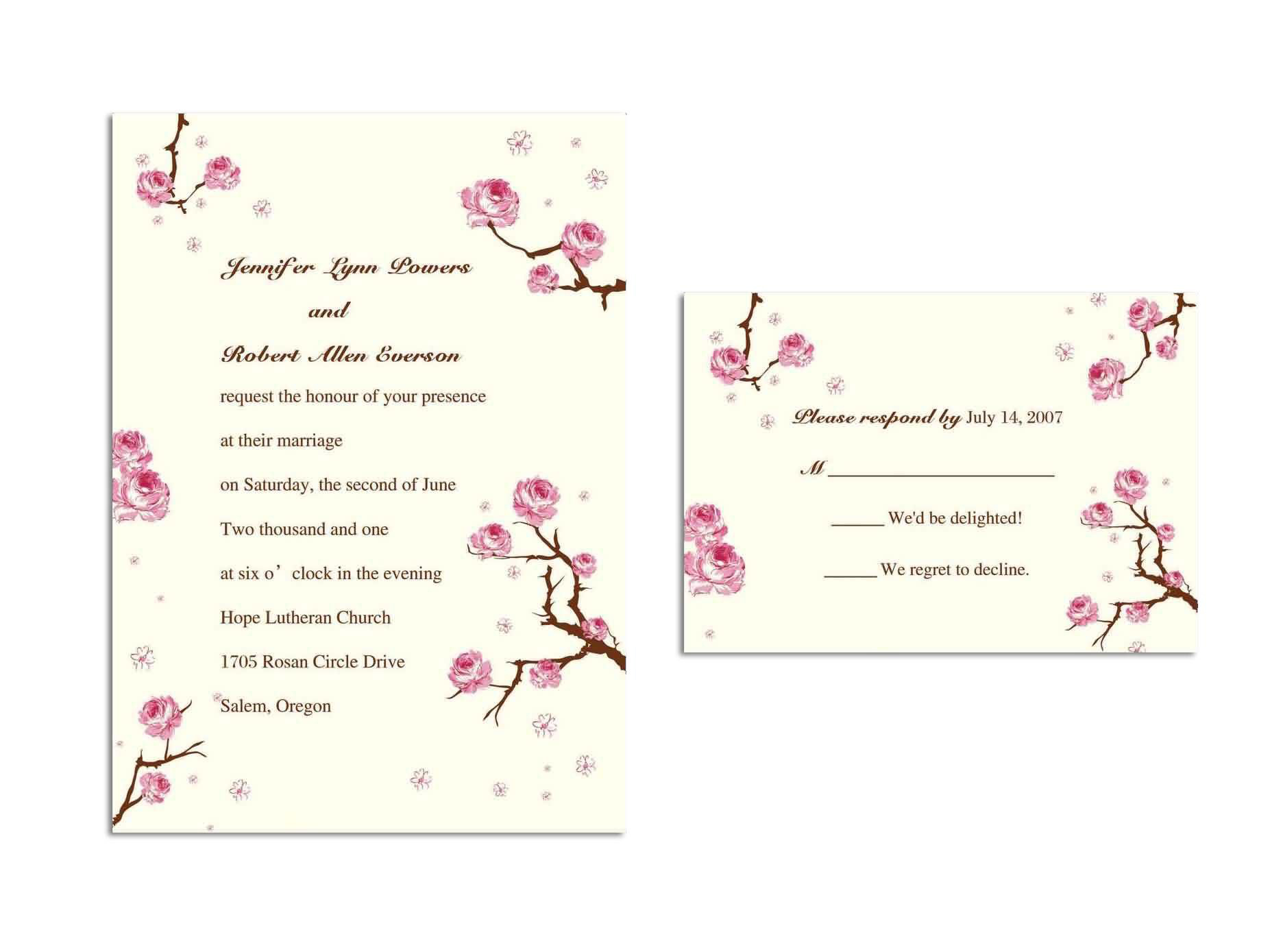 Cheap Wedding Invitation Quotes