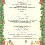 Christmas Party Invitation Etiquette