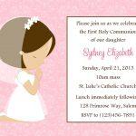 Communion Invitation Template