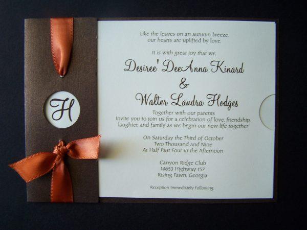 Custom Invitation Printable