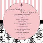 Elegant Wedding Invitation Printable