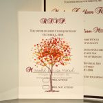 Elegant Wedding Invitation Template Card