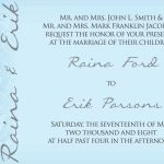 Email Invitations Template