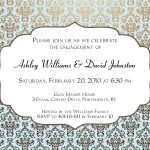 Engagement Invitation Design