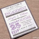 Engagement Invitation Etiquette