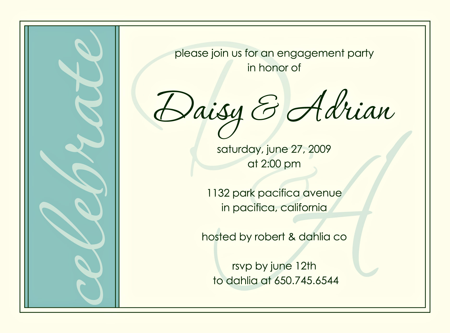 Engagement Invitation Quotes