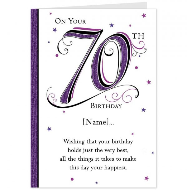 Etiquette Card Birthday Invitation Card
