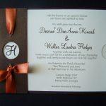 Fall Wedding Invitation