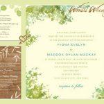 Fall Wedding Invitation Wording