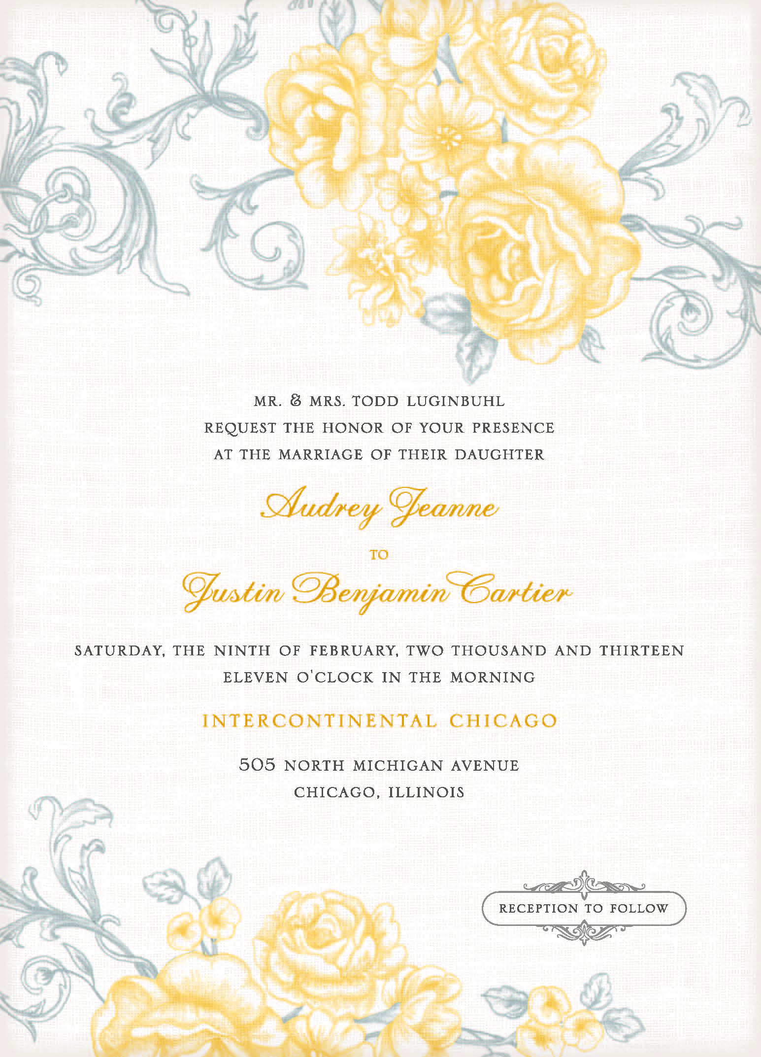 Free Online Invitation Template