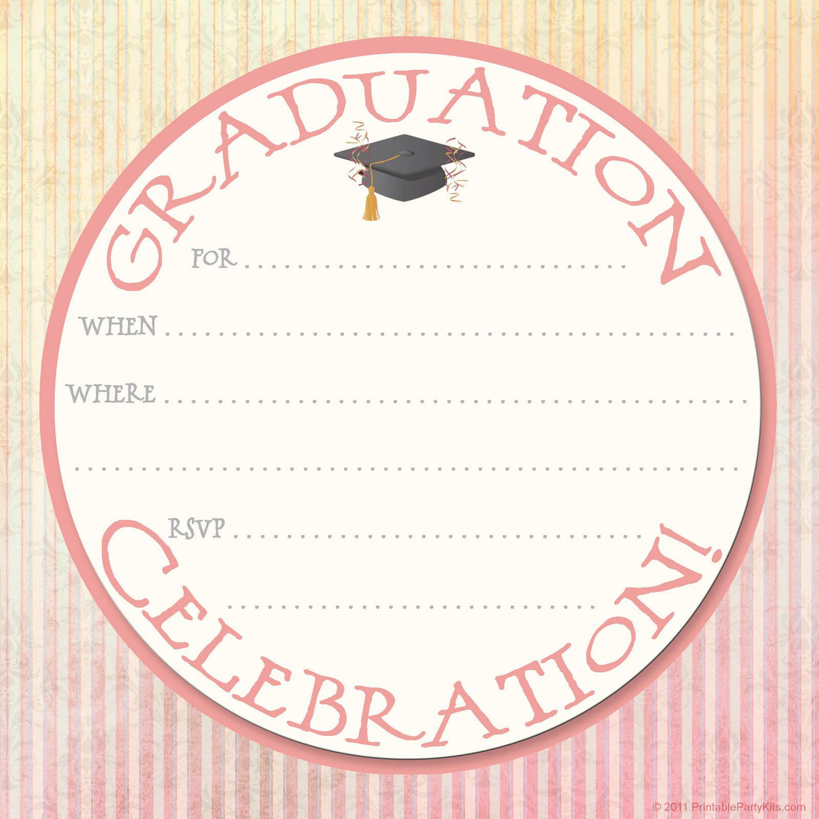 Free Printable Invitation Card