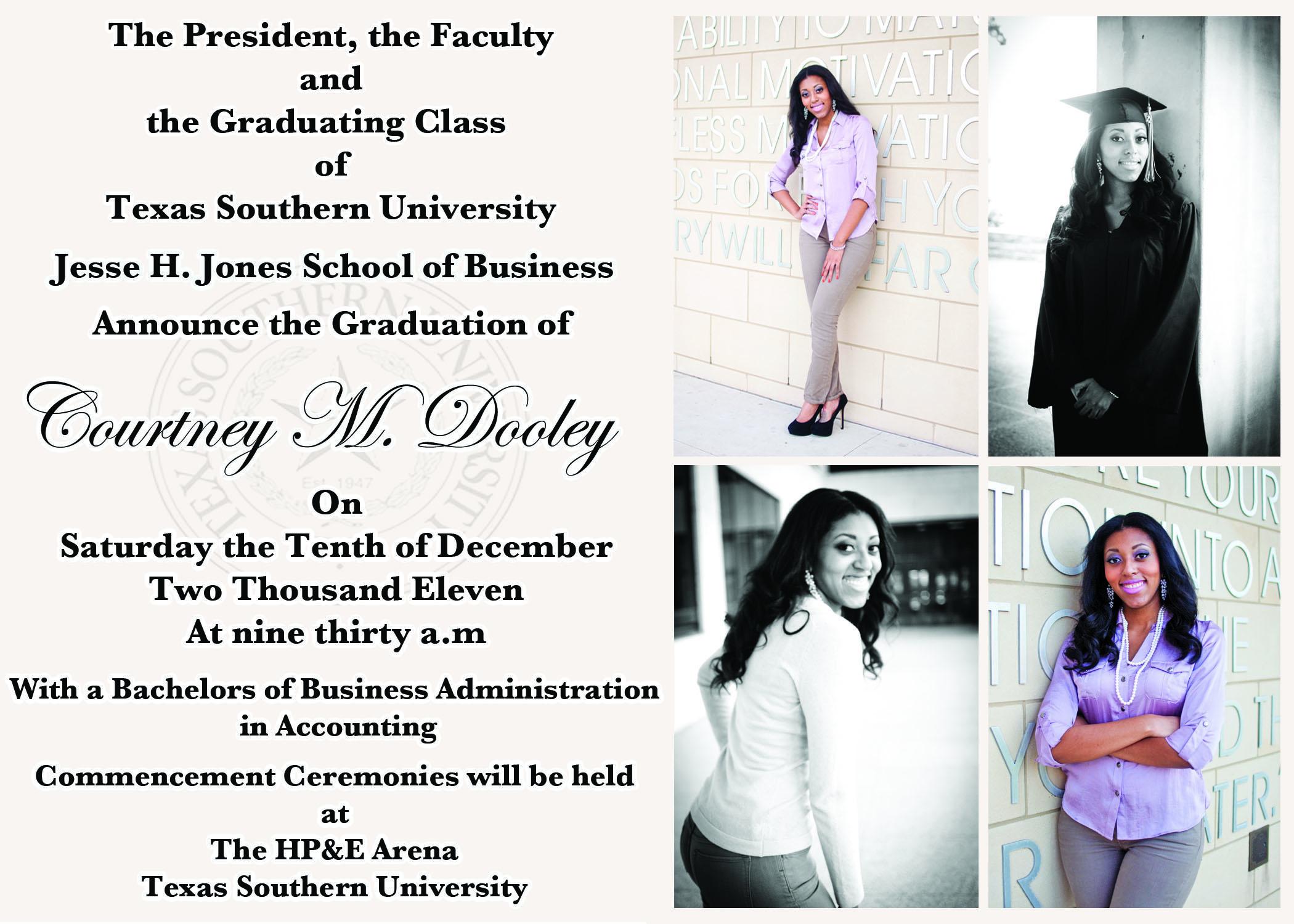 Graduation Invitation Templates Quotes