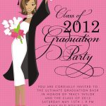 Graduation Party Invitation Template Card